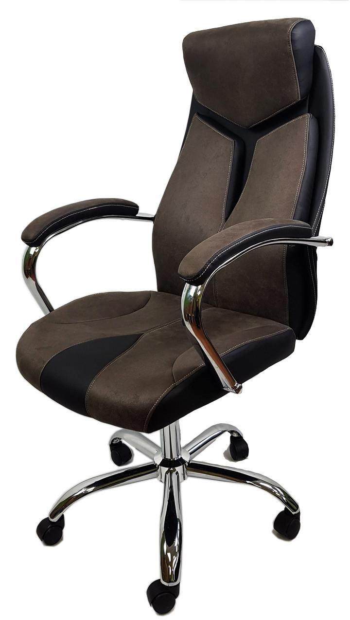 Крісло офісне комп'ютерній ютерне THOR BROWN OC206