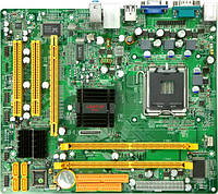 Уценка: Материнская плата s775 Jetway 945GCDMS-6H A2 (Intel 945, 2xDDR2, 4xSATA, 1xPCIE, VGA) бу