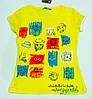 Модна футболочка на дівчинку ріст 110-122 см