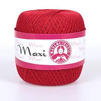 Maxi (Макси) 100% мерсеризованный хлопок 6328 красный