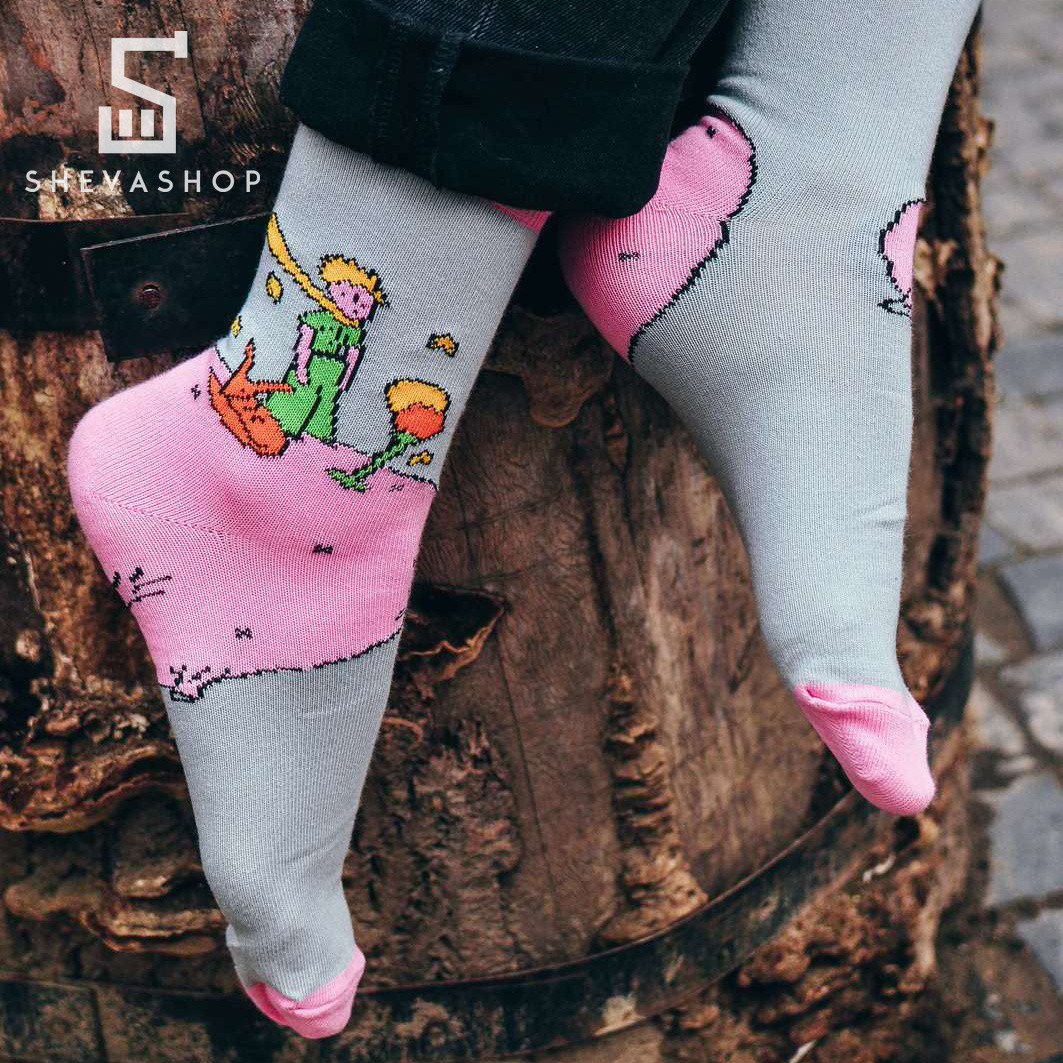 Длинные носки Soberay Little Prince