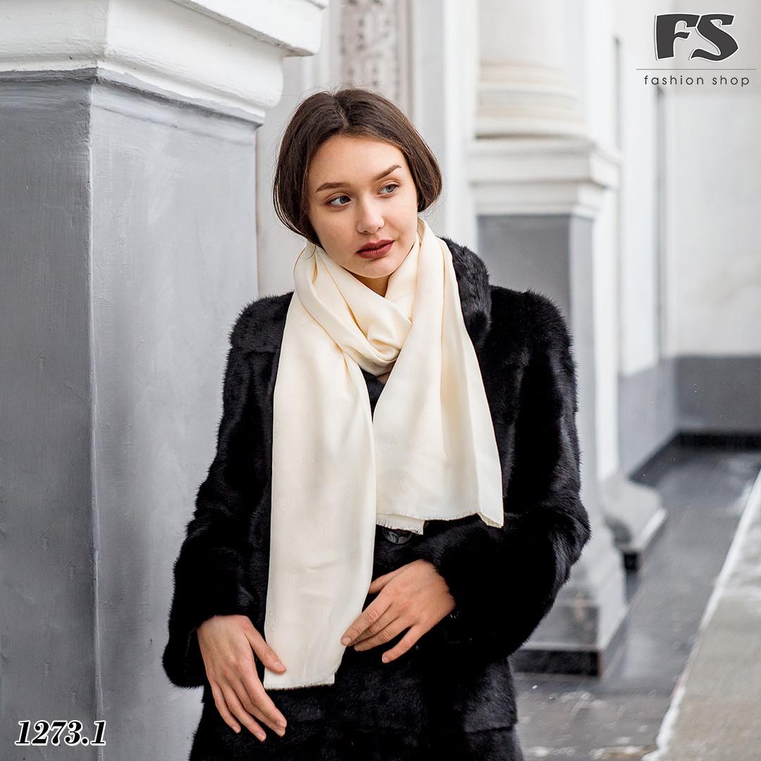 Кашемировый  стильный шарф Донна