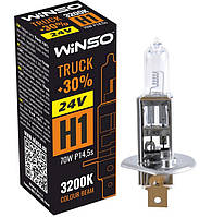 """Автомобильная галогенная лампа """"Winso"""" H1 Truck +30% (24V)(70W)"""