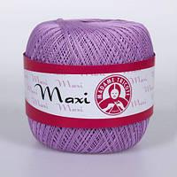 Maxi (Макси) 100% мерсеризованный хлопок 6308 сирень