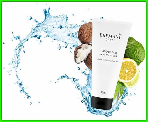 Крем для рук ежедневный, глубокое увлажнение НСП (Hand Cream Deep Hydration Bremani Care NSP)