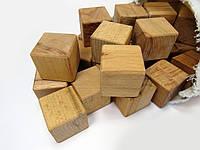 Кубики дерев'яні шліфовані букові, Майстерня Eko-Land