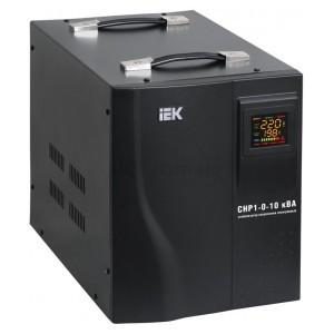 Стабилизатор напряжения СНР1-0-10 кВА электронный переносной, IEK