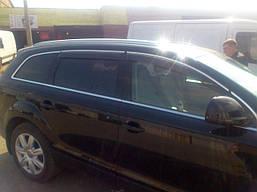 Дефлекторы окон kindle хром молдинг Audi Q7 2006-2014