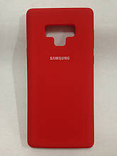 Чехол Samsung Note 9 Silicon Cover Original Red