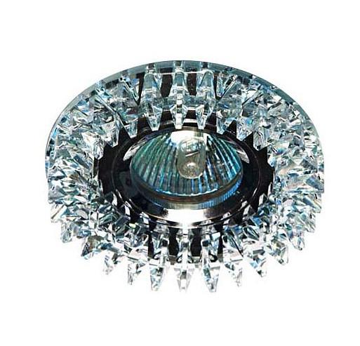 Точечный встраиваемый светильник Feron CD2540 прозрачный+прозрачный