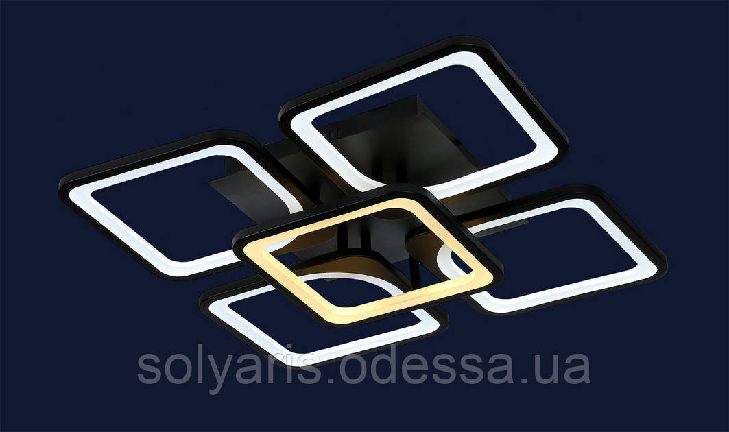 Люстра светодиодная 755MX10005-4+1 BK