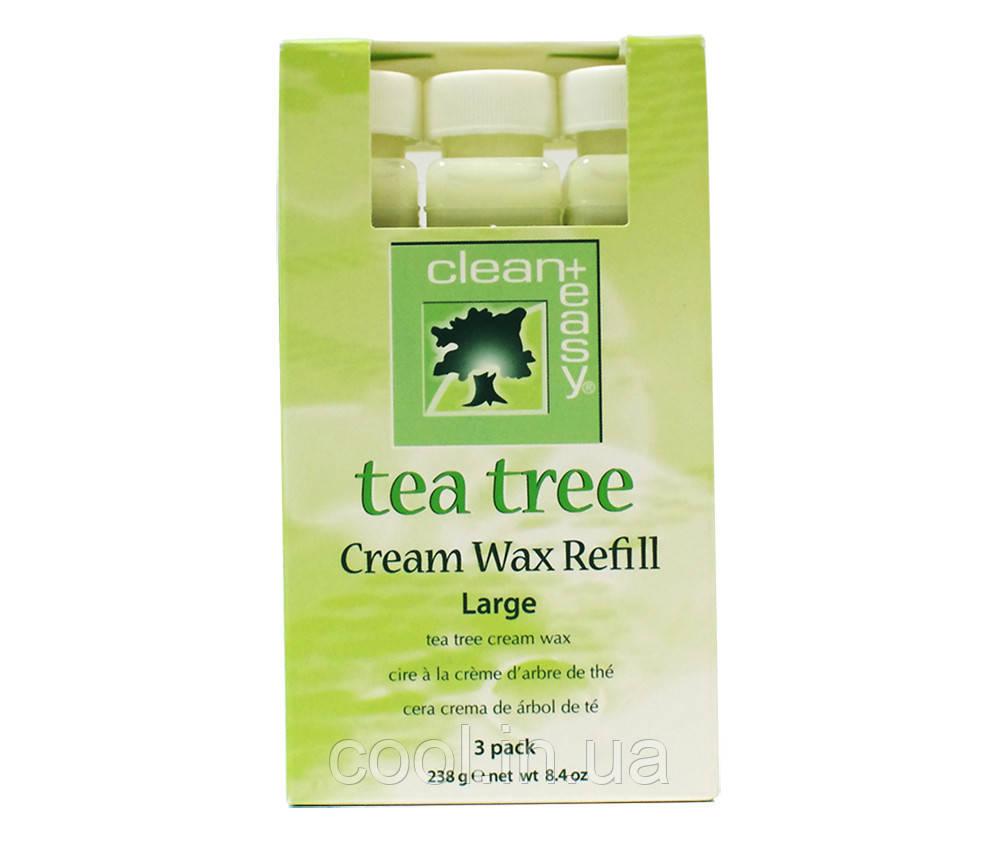 Воск зеленый чай Clean&Easy
