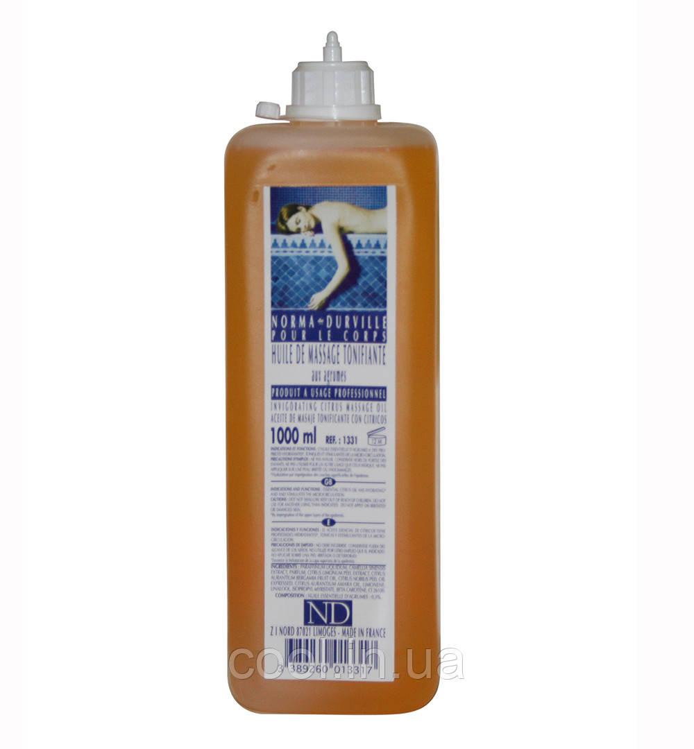 Массажное масло с цитрусовыми Norma de Durville