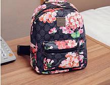 Городской рюкзак с цветочным принтом, фото 3