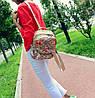 Городской рюкзак с цветочным принтом, фото 4