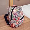 Городской рюкзак с цветочным принтом, фото 6