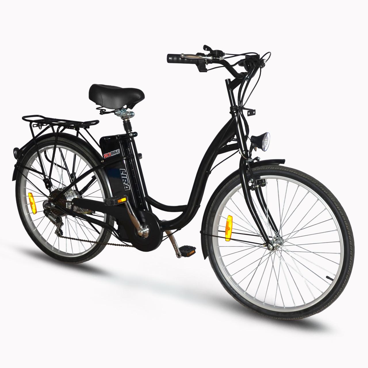 Електровелосипед SkyBike LIRA Plus (350W-36V) Чорний