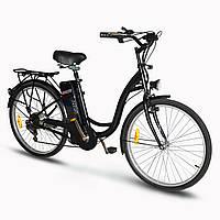 Електровелосипед SkyBike LIRA Plus (350W-36V) Чорний, фото 1