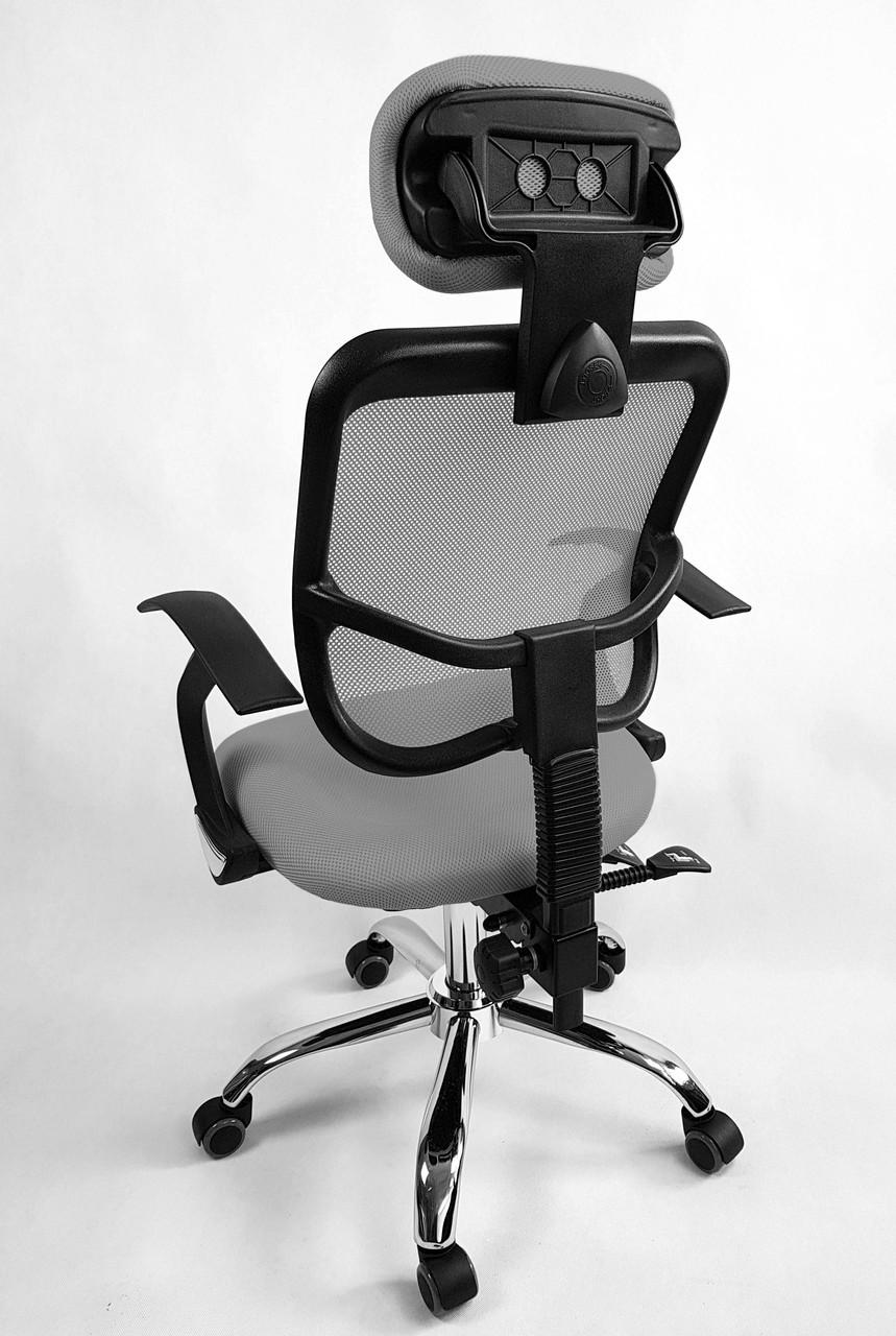 Крісло офісное Ergo D05 grey
