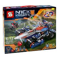 """Конструктор SY566 Nexo Knights (аналог Лего 70315) """"Устрашающий разрушитель Клэя"""", 432 детали"""