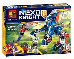 """Конструктор Bela 10485 Nexo Knights (аналог Лего 70312) """"Ланс и его механический конь"""" 249 деталей"""
