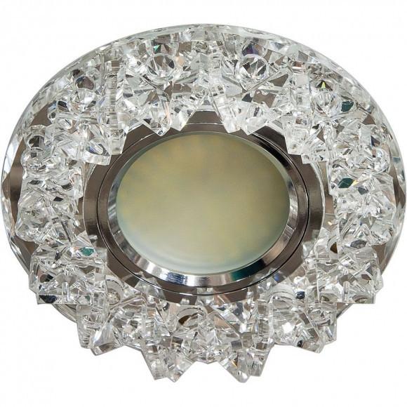 Точечный встраиваемый светильник Feron CD2542 прозрачный+прозрачный