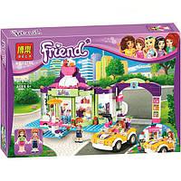 """Конструктор Bela 10759 """"Магазин замороженных йогуртов"""" (аналог LEGO Friends 41320), 376 деталей"""