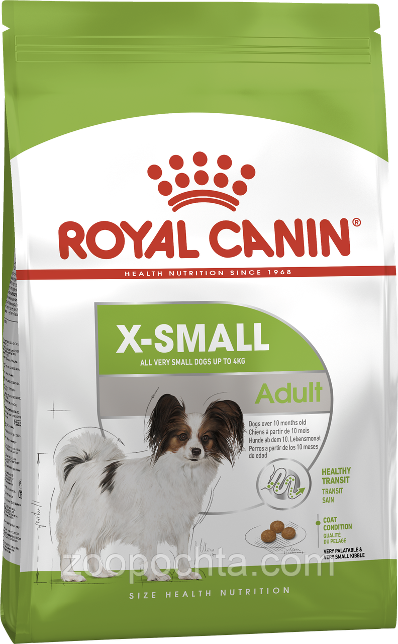 Сухой корм Royal Canin X-Small Adult для собак, 3КГ