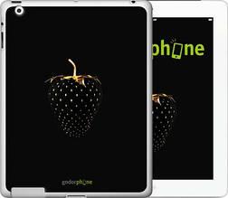 """Чехол на iPad 2/3/4 Черная клубника """"3585c-25-851"""""""