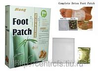 Целебные пластыри на стопы «Foot Patch» для выведения токсинов.