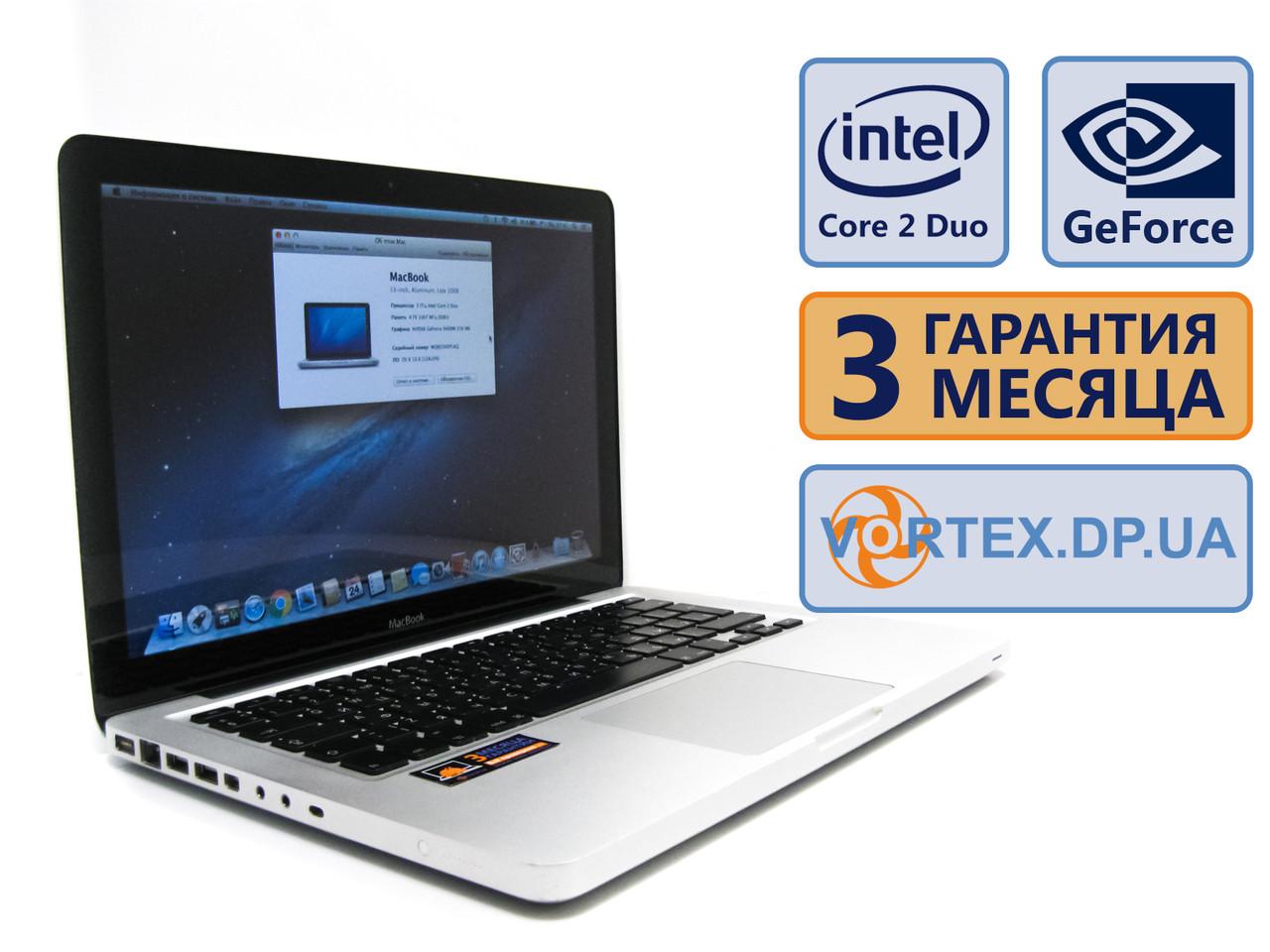Ноутбук Apple MacBook Pro A1278 (2008) 13 (1280x800) / Intel Core 2 Duo P7350 (2x2GHz) / GeForce 9400M/RAM 4Gb/HDD 160Gb/АКБ 1 ч. /Сост. 9/10 БУ