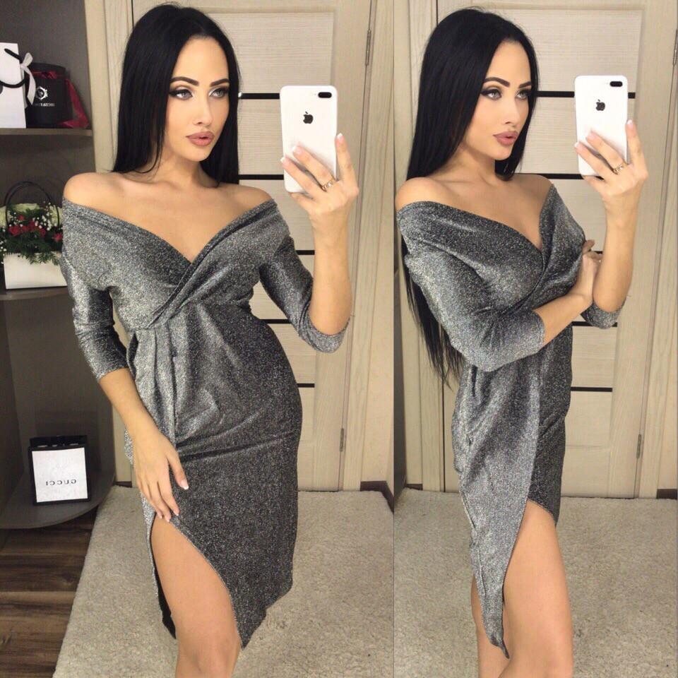 Женское стильное платье  ВН325