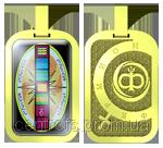 «Дидограф F-900» Информационный фильтр — парные кулоны Au-W/Ni-M