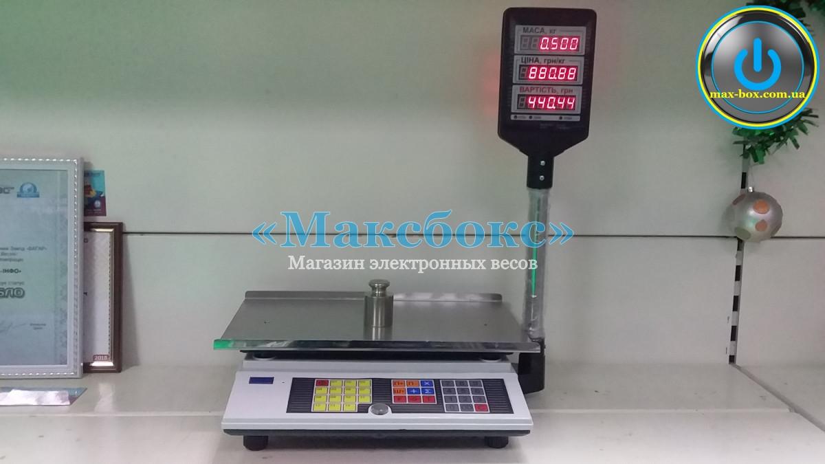 Весы электронные торговые ВТА 60/15-5D-Ш-АС