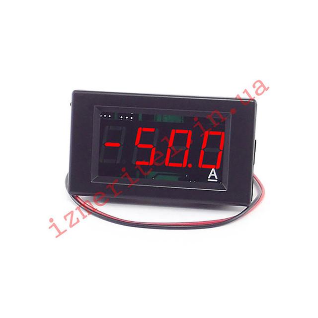 Двунаправленный цифровой амперметр постоянного тока 50А