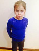 Вязаный детский свитер из кашемира