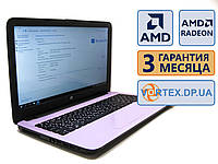 Ноутбук HP 15-ay113cy 15.6 (1366x768) / AMD A10-9600P (4x2.4GHz) / RAM 8Gb / SSD 128Gb / АКБ 3.5 ч. / Сост. 9/10 БУ