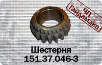 151.37.046-3Шестерня рабочего ряда z=19 КПП Т-150