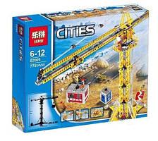 "Конструктор Lepin 02069 (аналог Lego City 7905) ""Высотный кран"", 778 деталей"