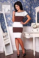Платье Пчела В4 Медини 42-52 размер