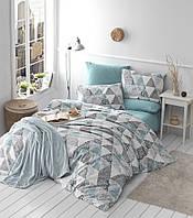 Комплект постельного белья 200х220 LIGHT HOUSE бязь голд PIRAMIT серый