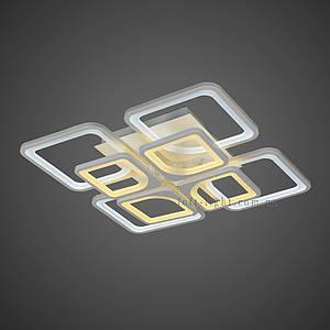 Люстра потолочная светодиодная  (модель  55-MX10005-4+4 WH )