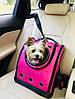 Рюкзак для котов и небольших собак CosmoPet. Переноска для домашних животных. Авиапереноска