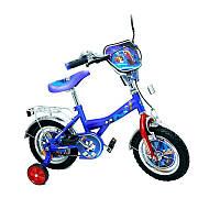 Велосипед Турбо 12 BT-CB-0006 синий с красны
