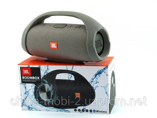 JBL Boombox mini 40w копия, портативная колонка с Bluetooth FM MP3, серая, фото 2