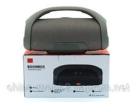 JBL Boombox mini 40w копия, портативная колонка с Bluetooth FM MP3, серая, фото 3