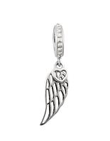 Шарм серебряный с крылом