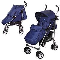Детская прогулочная коляска-трость Bambi M 3459 синяя