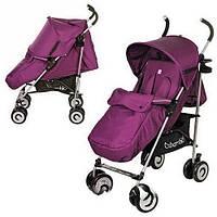 Детская прогулочная коляска-трость Bambi M 3459 бордовая