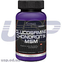 Ultimate Nutrition Glucosamine Chondroitin глюкозамин хондроитин хондропротектор для суставов связок спортпит